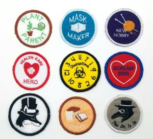 Variety of patches